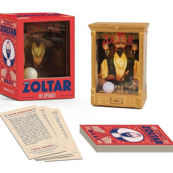 Running Press Releases Mini Zoltar