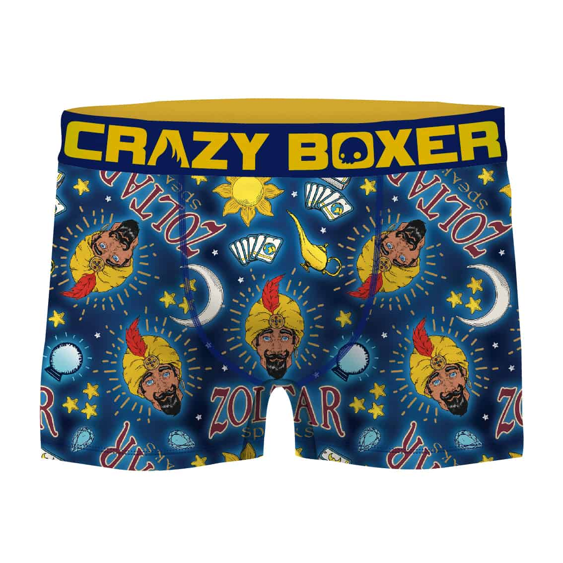Crazy Boxer Introduces Zoltar to Licensed Product Selection